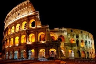 Um dos lugares mais imponentes do mundo: o Coliseu