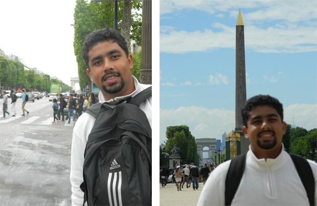 Champs-Élysées e Obelisco