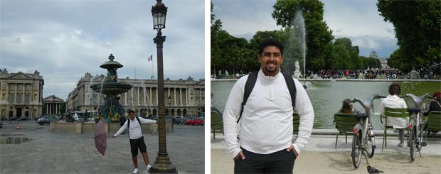 Pantheon e os Jardins de Tulleries