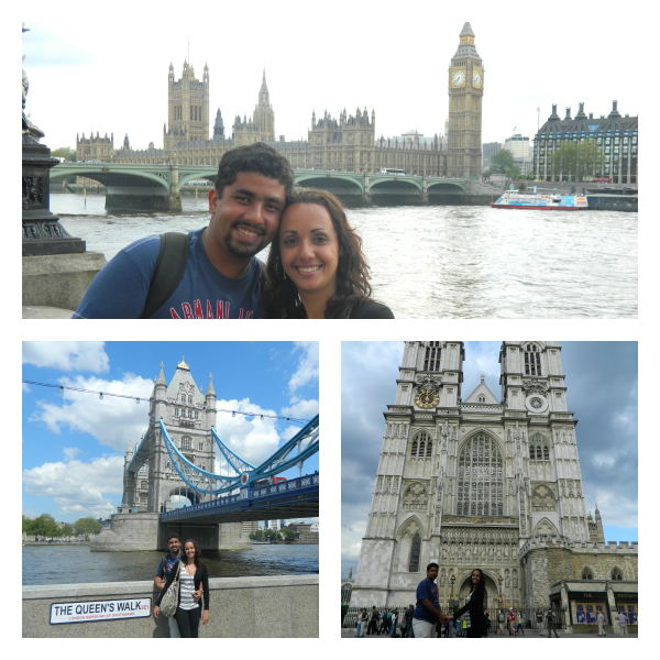 Big Ben, Tower Bridge e Abadia de Westminster... London!