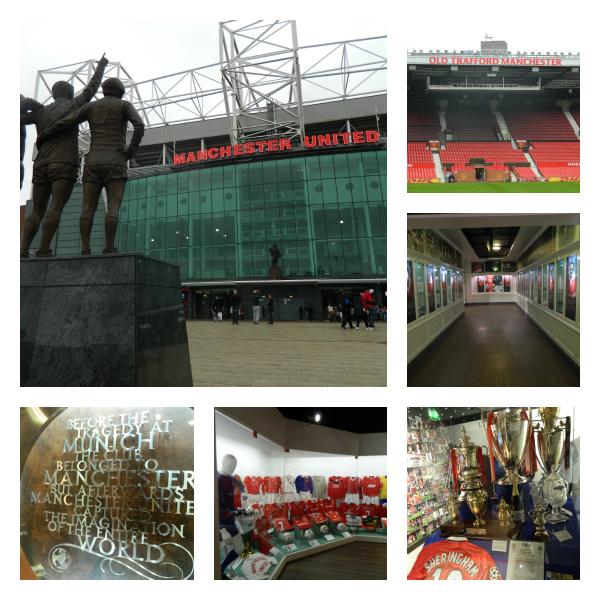 Detalhes marcantes da visita a Old Trafford