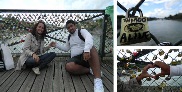 Pont das Arts..tem romantismo sim senhor :)