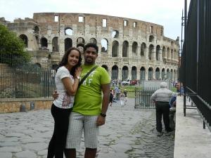 Roma mistura arte, gastronomia e história. Espetáculo!