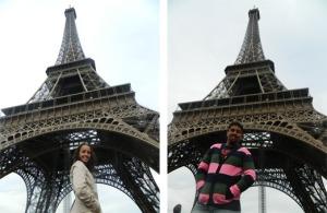Os primeiros cliques na Torre Eiffel