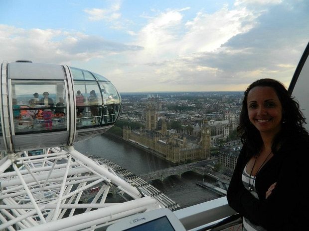 Vista da London Eye