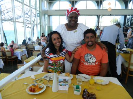 Café da manhã no Bahia Othon Palace