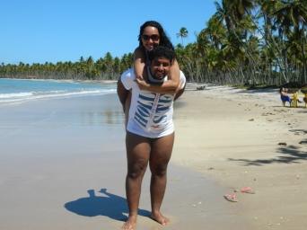 Sorria, você está na Bahia :-) (Boipeba)