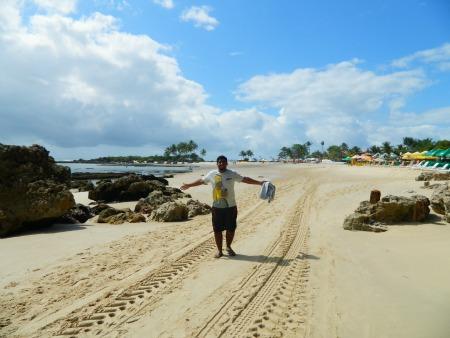 Saindo da Primeira e chegando à Segunda Praia