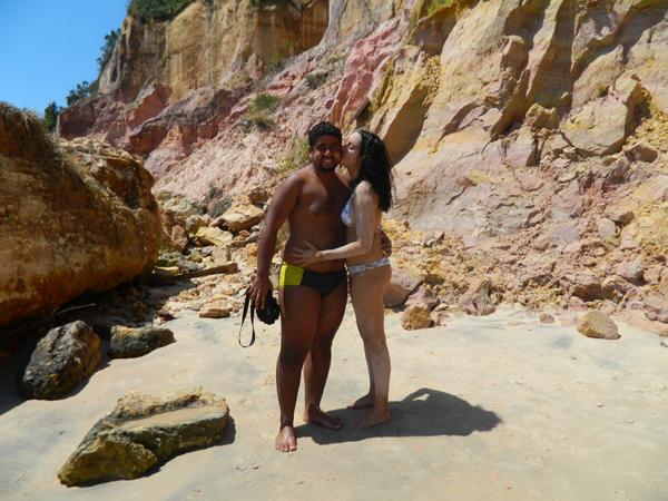 Tá com nojinho? Toma beijinho :) (Praia da Gamboa, Morro de São Paulo)