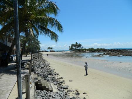 Terceira Praia quase na metade
