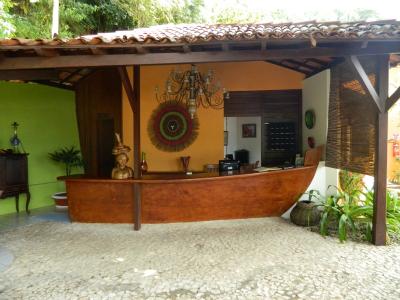 Recepção - Hotel Portaló