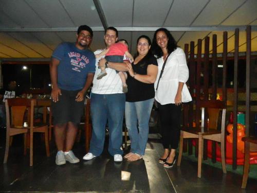 Encontro com amigos em Salvador