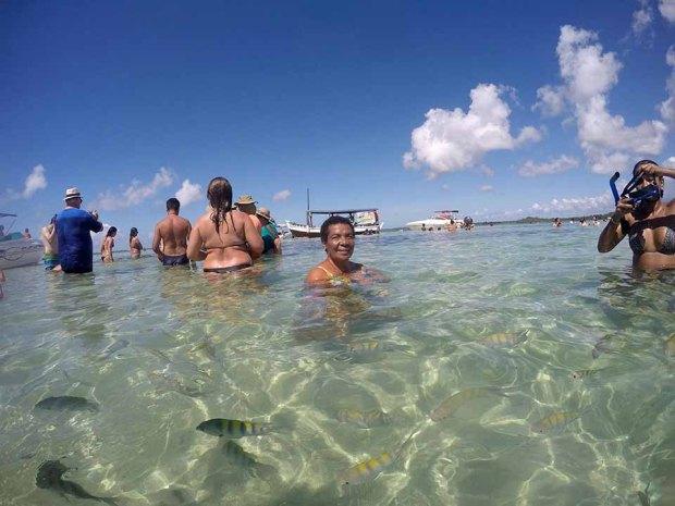 piscinas naturais moreré morro são paulo