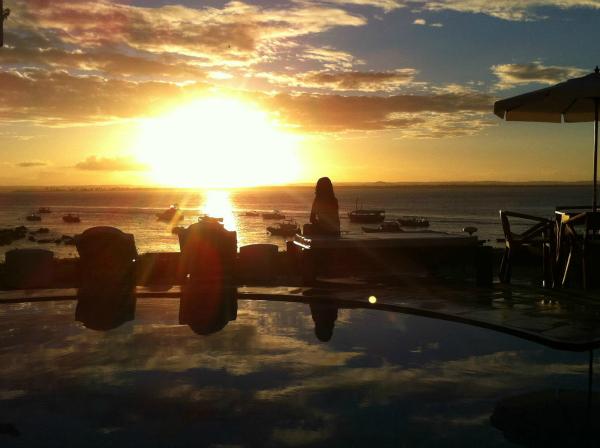 Pôr do sol - Hotel Portaló