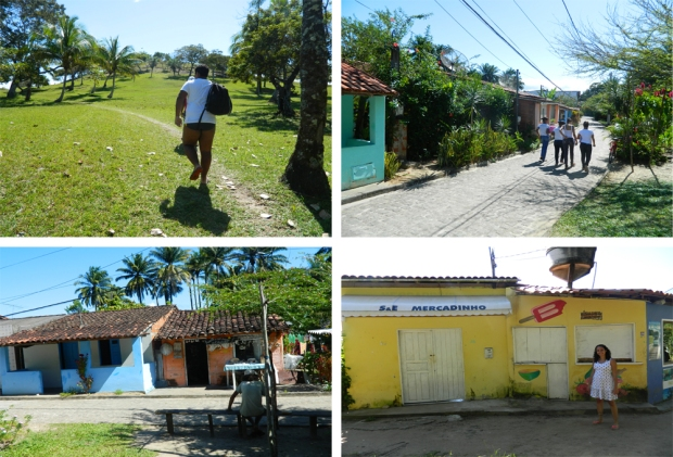 Vilarejo dos moradores de Boipeba