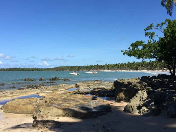 praia de cueira boipeba bahia