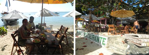 Almoçando no Nativa's Bar e Restaurante - Praia da Gamboa