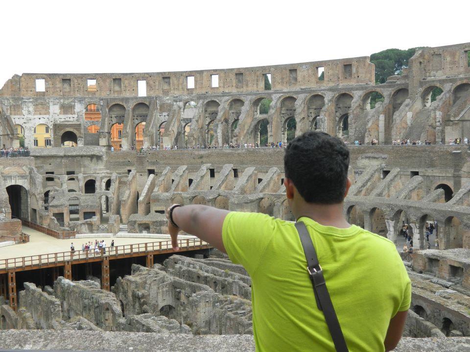 Quando o Imperador fazia esse gesto, o gladiador morria...