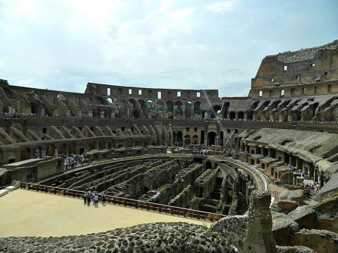 Coliseu não é uma maravilha do mundo à toa