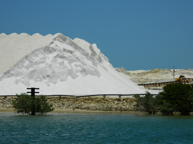 Dunas de Sal em Galinhos - RN