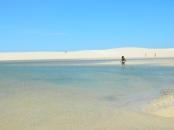 Mar morto brasileiro - Dunas do Capim - Galinhos - RN