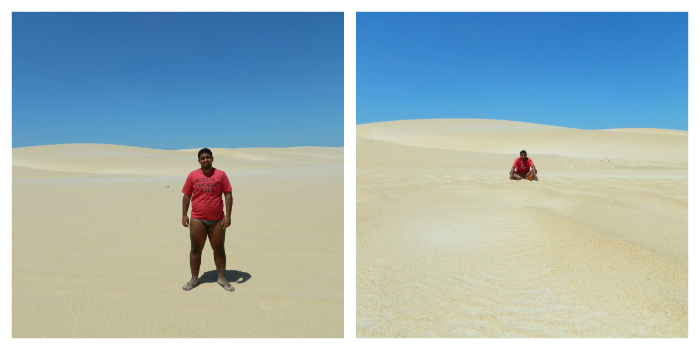 O verdadeiro deserto brasileiro - Galinhos - RN