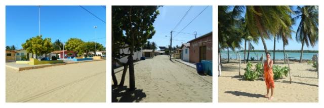 Vilarejo na Praia de Galos - RN