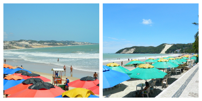 Praia de Ponta Negra e Morro do Careca - Natal - RN