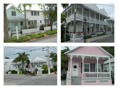 Arquitetura em Key West
