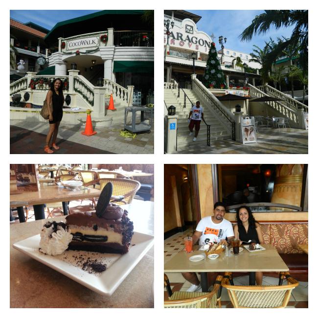 CocoWalk e sua espetacular Cheesecake Factory
