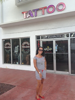 Cheguei, Miami Ink!
