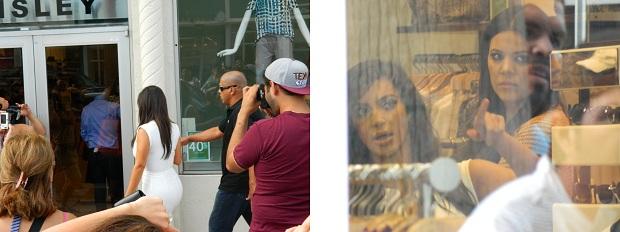 kim kardashian em Miami Beach