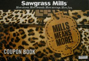 Coupon Book Sawgrass Mills