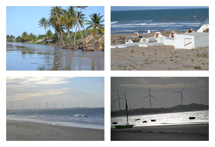 Baleia, Apikes e Cemitério na Praia de Caetanos - CE