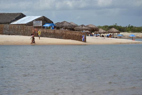 Chegada na Lagoa Azul - Jericoacoara - CE