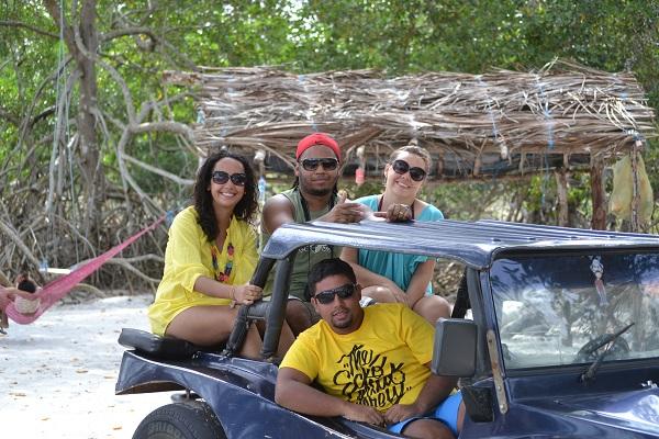 Trilha cercada por mangue - Antiga Tatajuba - Jericoacoara - CE