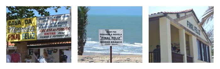 Casa da novela Final Feliz - Morro Branco - CE