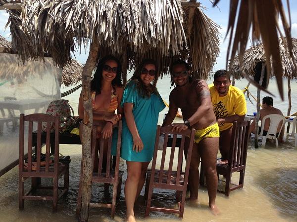 Eu, Thiago, Rafa e Renatinho :)