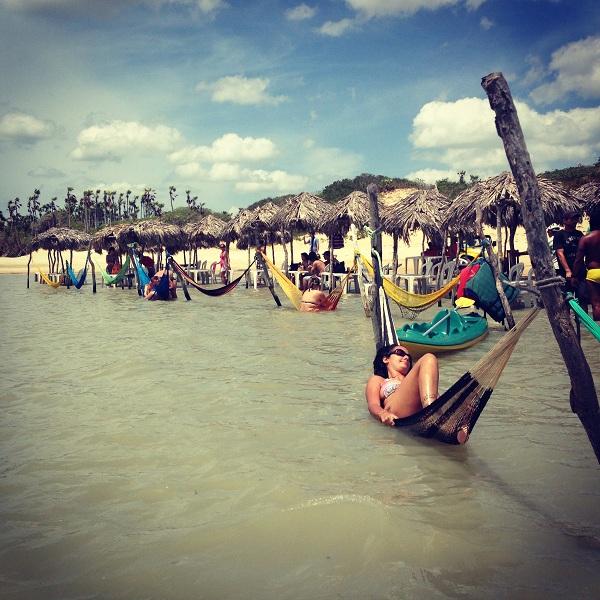Redinhas relaxantes - Lagoa da Torta - Jericoacoara