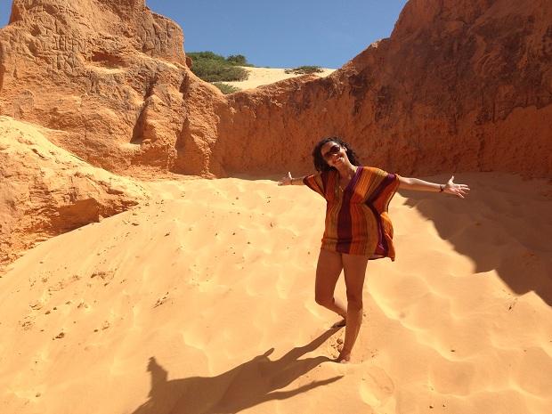 Maravilha!! Falésias de Morro Branco - CE