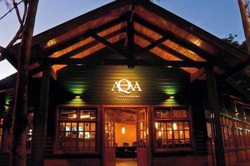Restaurante AQVA - Puerto Iguazú