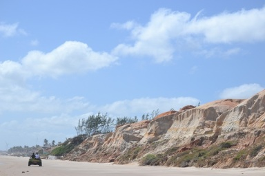 Passeio de buggy por diversas praias do município de Aracati - CE