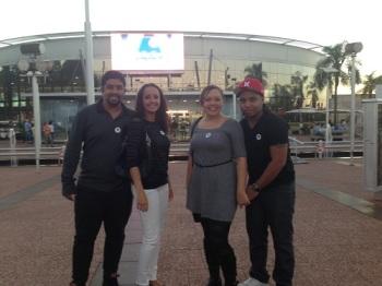 Nós com os amigos Renato e Rafaela em mais uma viagem juntos