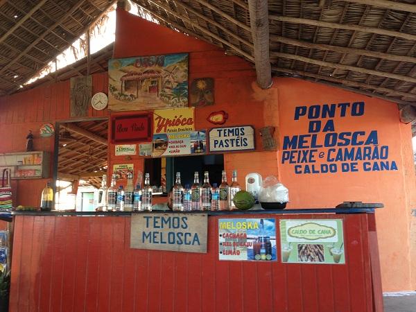 Barraca Oásis - Ponto da Melosca - Canoa Quebrada - CE