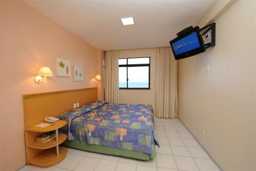 Quarto de casal do Maredomus Hotel - Fortaleza - CE