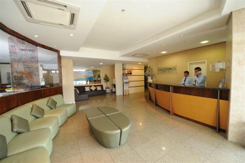 Recepção do Maredomus Hotel - Fortaleza - CE