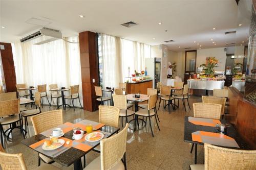 Café da manhã do Maredomus Hotel - Fortaleza - CE