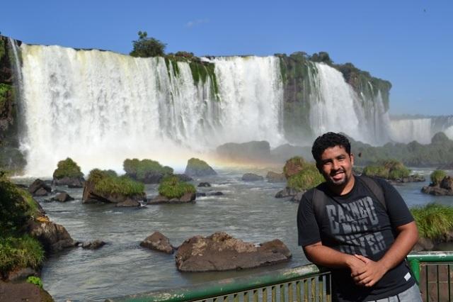 Lugar mais famoso das Cataratas Brasileiras