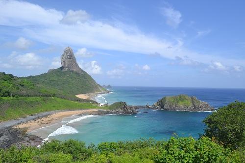 Praia da Conceição e Praia do Meio - Fernando de Noronha