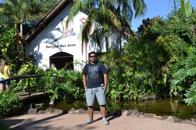 Entrada do Parque das Aves
